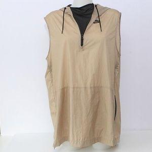 Nike Hooded Sleeveless Windbreaker